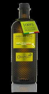 Olio Carapelli Oro Verde Extravergine di oliva 100% italiano