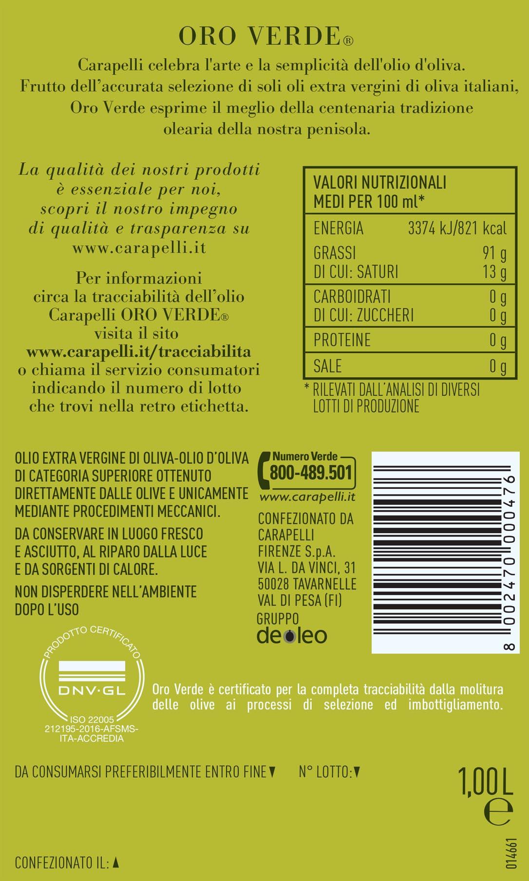 Estremamente Come leggere le etichette dell'Olio Extravergine di Oliva  XV53