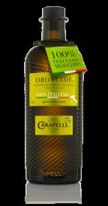 Olio Extravergine di oliva Carapelli Oro Verde 100% italiano